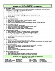Council Appointment List - 2014-2015(Dec1_14)